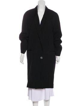 Notch Lapel Long Coat by Lemaire