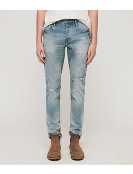 Rex Damaged Skinny Jeans by Allsaints