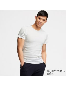 Supima Cotton T Shirt 2 P (Short Sleeve) by Uniqlo