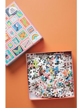 Hello From Around The World Puzzle by Anthropologie