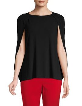 Cape Sleeve Knit Top by Bcbgmaxazria