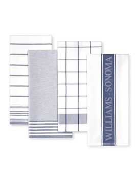 williams-sonoma-multi-pack-towels,-bright-blue by williams---sonoma