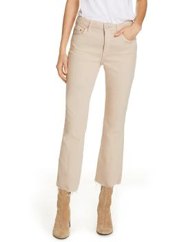 Colette High Waist Crop Flare Leg Jeans by Trave