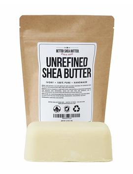 Unrefined Ivory Shea Butter   Raw, 100% Pure, From West Africa   Moisturizing For Dry, Cracked Skin And Eczema   Use On Body, Face And Hair And In Diy... by Better Shea Butter