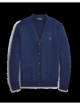 Wool Silk Cashmere Cardigan by Ralph Lauren