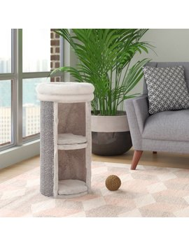 Geneva 2 Story Cat Tower Scratching Post by Archie & Oscar