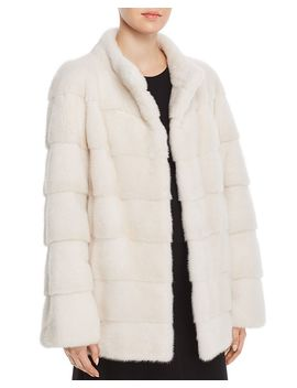 Short Mink Fur Coat  100 Percents Exclusive by Maximilian Furs
