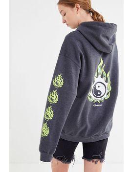 Bdg Yin Yang Hoodie Sweatshirt by Bdg