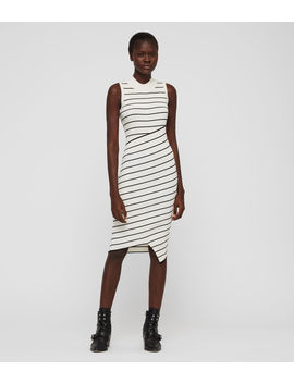 Amara Stripe Dress by Allsaints