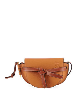 Gate Mini Grain Leather Shoulder Bag by Loewe