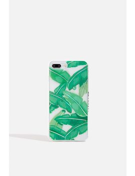 **Banana Palm Case   I Phone 6/6 S/7 Plus & 8 Plus By Skinnydip by Topshop