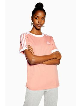 Pale Pink California T Shirt By Adidas by Topshop