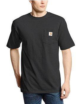 Carhartt Men's 'k87' Workwear Pocket Short Sleeve T Shirt Blue by Amazon