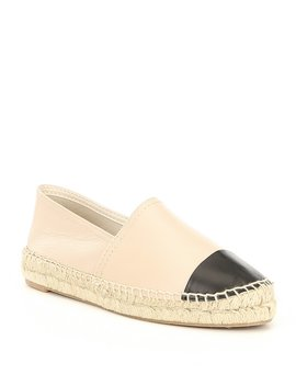 Cone Leather Cap Toe Espadrille Slip Ons by Aldo