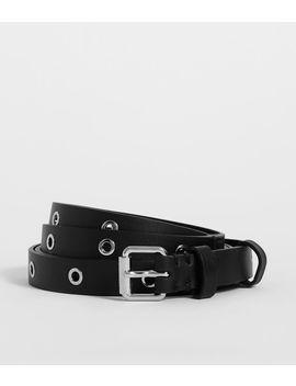 Julia Leather Belt by Allsaints