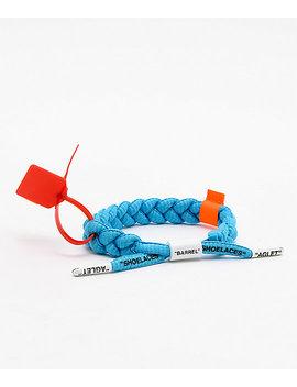 Rastaclat Off Clat Blue Bracelet by Rastaclat