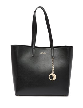 Saffiano Leather Tote Bag by Versace