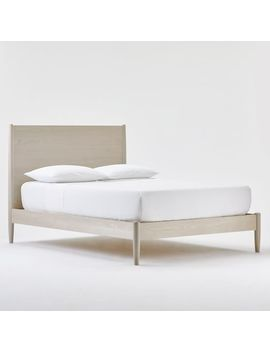 Mid Century Bed   Pebble by West Elm