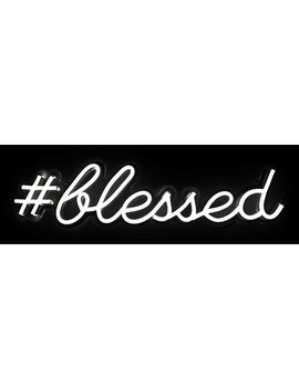 "Oliver Gal ""Blessed"" Led Sign by Oliver Gal"