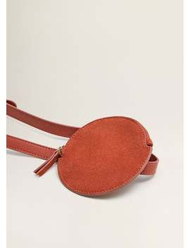 Leather Mini Bum Bag by Mango