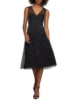 Sleeveless Faux Pearl Dress by Bcbgmaxazria