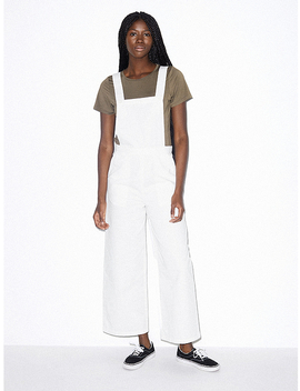 Denim Pinafore Jumpsuit by American Apparel