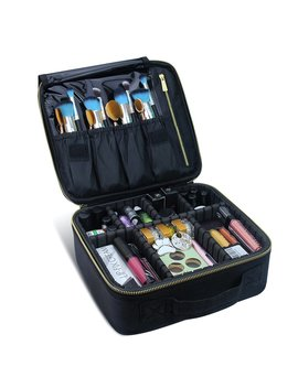Travel Makeup Case,Chomeiu  Professional Cosmetic Makeup Bag Organizer Makeup Boxes With Compartments Neceser De Maquillaje by Chomeiu