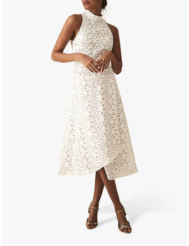 Reiss Siri Lace Dress, White by Reiss