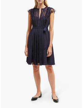 French Connection Eva Dress, Utility Blue by French Connection
