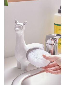 Llama Scrubby Sponge Holder by Urban Outfitters