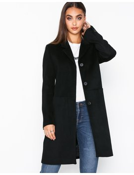 Slfboa Wool Coat B by Selected Femme