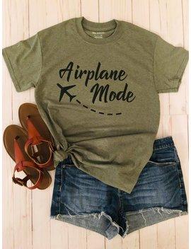Airplane Mode Shirt / Travel Shirt / Vacation Shirt by Etsy