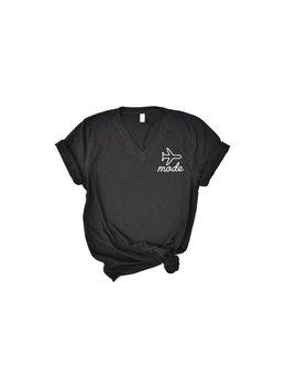Airplane Mode V Neck T Shirt | Travel Day Shirt | Airport Shirt | Airplane Mode | Honeymoon Shirt | Honeymoon Gift by Etsy