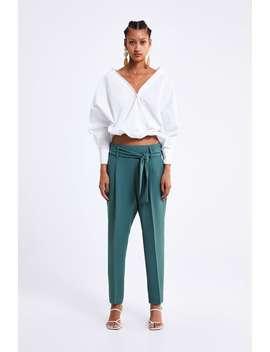 Belted Trousers  Alles Bekijken Broeken Dames by Zara