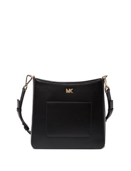 Leather Pocket Swing Crossbody Bag by Michael Michael Kors