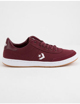 Converse Barcelona Pro Low Top Burgundy & White Shoes by Converse