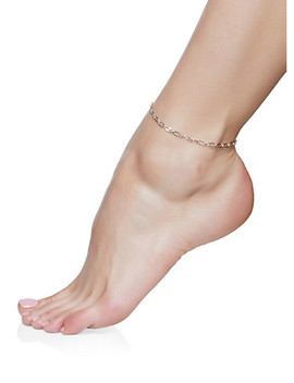Charm Chain Anklet Trio by Rainbow