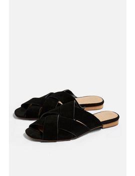 Hop Flat Sandals by Topshop