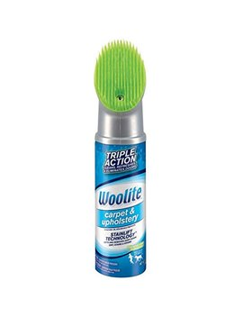 Woolite Carpet & Upholstery Foam Cleaner With Fabric Safe Brush, 8352 by Woolite