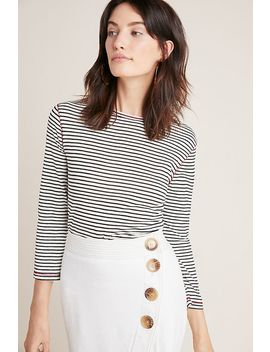 Breton Striped Top by Seen Worn Kept