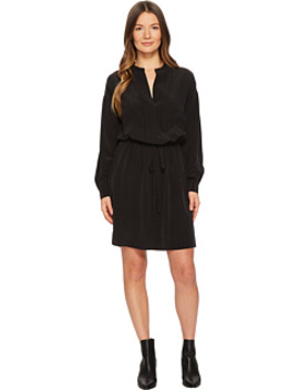 Shirred Sleeve Dress by Vince