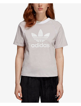Cotton Trefoil T Shirt by Adidas Originals