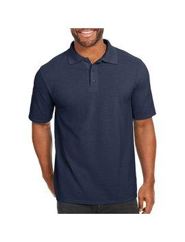 Men's X Temp With Fresh Iq Short Sleeve Pique Polo Shirt by Hanes