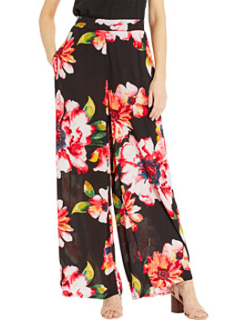 floral-printed-flare-pants by eci