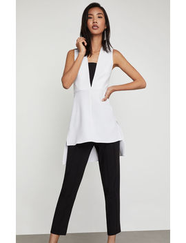 Sleeveless High Low Tunic Top by Bcbgmaxazria