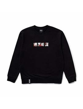 Bt21 Official Merchandise By Line Friends   Character Long Sleeve Tshirt Crew Neck Knit Tee Shirt by Bt21