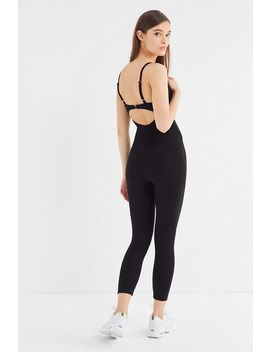 Uo Scarlett Lace Trim Bustier Jumpsuit by Urban Outfitters