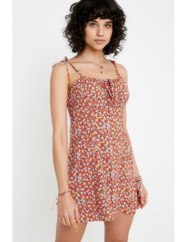 Uo Julia Tie Sun Dress by Urban Outfitters