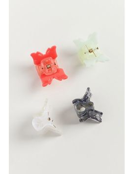 Flutter Butterfly Hair Clip Set by Urban Outfitters