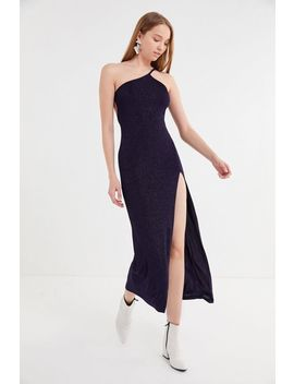 Uo Taylor Glitter Strap Midi Dress by Urban Outfitters